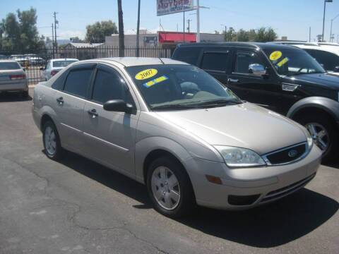 2007 Ford Focus for sale at Town and Country Motors - 1702 East Van Buren Street in Phoenix AZ