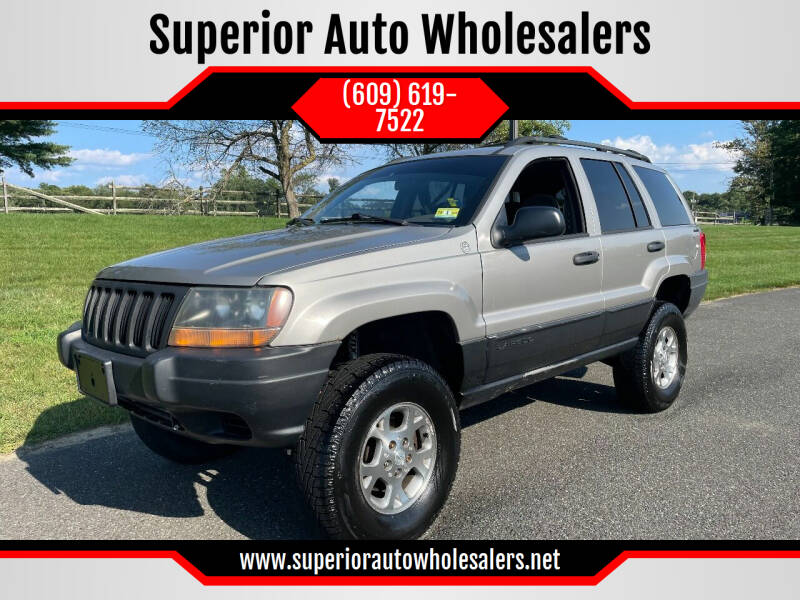 2000 Jeep Grand Cherokee for sale at Superior Auto Wholesalers in Burlington NJ