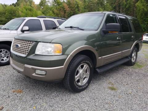 2003 Ford Expedition for sale at TR MOTORS in Gastonia NC