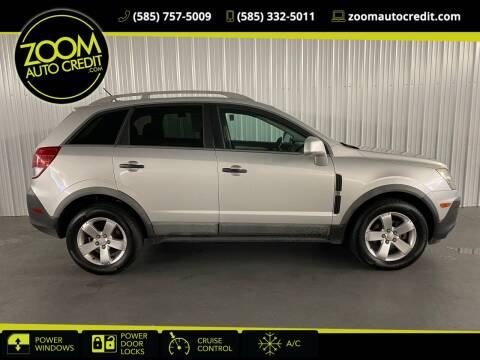2012 Chevrolet Captiva Sport for sale at ZoomAutoCredit.com in Elba NY