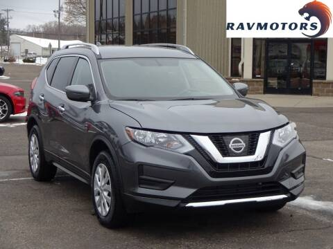 2017 Nissan Rogue for sale at RAVMOTORS 2 in Crystal MN