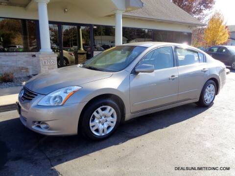 2012 Nissan Altima for sale at DEALS UNLIMITED INC in Portage MI