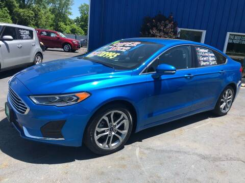 2019 Ford Fusion for sale at FREDDY'S BIG LOT in Delaware OH