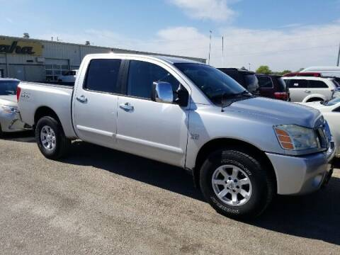 2004 Nissan Titan for sale at Kansas Car Finder in Valley Falls KS