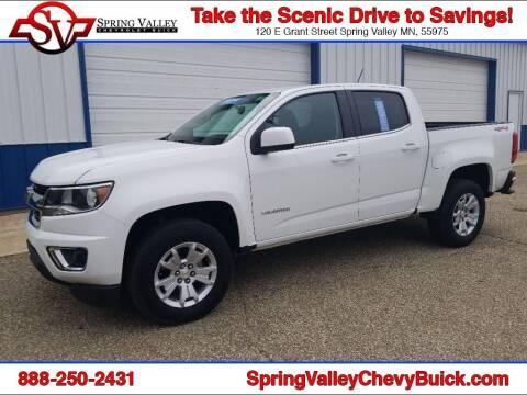 2018 Chevrolet Colorado for sale at Spring Valley Chevrolet Buick in Spring Valley MN