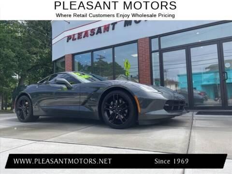 2019 Chevrolet Corvette for sale at Pleasant Motors in New Bedford MA