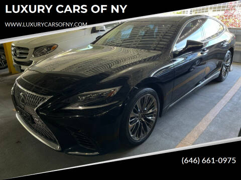 2018 Lexus LS 500 for sale at LUXURY CARS OF NY in Queens NY