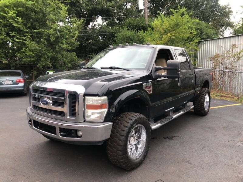 2008 Ford F-250 Super Duty for sale at 4 Girls Auto Sales in Houston TX