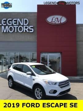 2019 Ford Escape for sale at Legend Motors of Waterford - Legend Motors of Ferndale in Ferndale MI