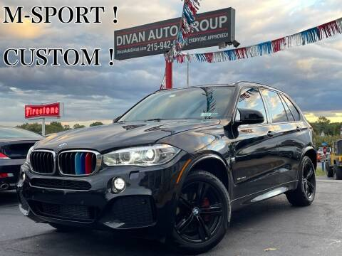 2015 BMW X5 for sale at Divan Auto Group in Feasterville Trevose PA