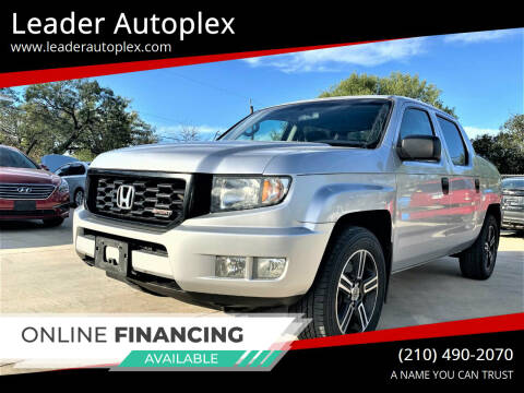 2012 Honda Ridgeline for sale at Leader Autoplex in San Antonio TX
