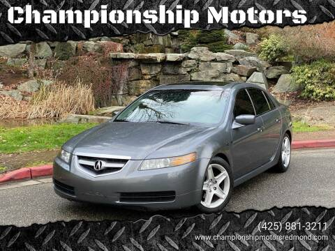 2005 Acura TL for sale at Mudarri Motorsports - Championship Motors in Redmond WA