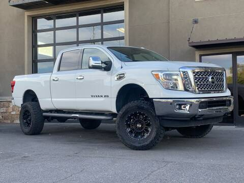 2017 Nissan Titan XD for sale at Unlimited Auto Sales in Salt Lake City UT