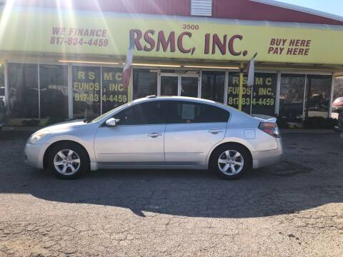 2009 Nissan Altima for sale at Ron Self Motor Company in Fort Worth TX