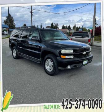 2003 Chevrolet Suburban for sale at Corn Motors in Everett WA