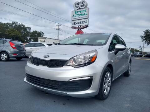 2017 Kia Rio for sale at BAYSIDE AUTOMALL in Lakeland FL