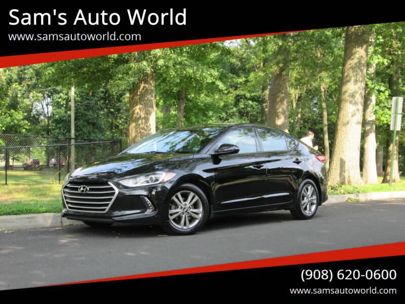2017 Hyundai Elantra for sale at Sam's Auto World in Roselle NJ