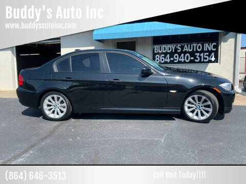 2011 BMW 3 Series for sale at Buddy's Auto Inc in Pendleton, SC
