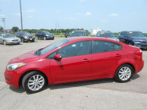 2015 Kia Forte for sale at Salmon Automotive Inc. in Tracy MN
