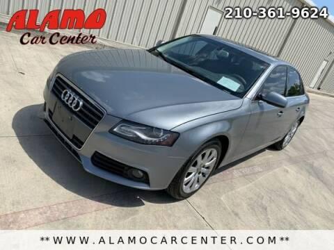 2011 Audi A4 for sale at Alamo Car Center in San Antonio TX
