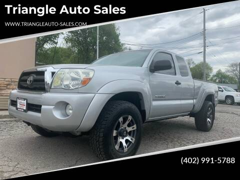2006 Toyota Tacoma for sale at Triangle Auto Sales in Omaha NE