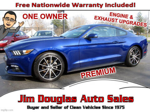 2016 Ford Mustang for sale at Jim Douglas Auto Sales in Pontiac MI