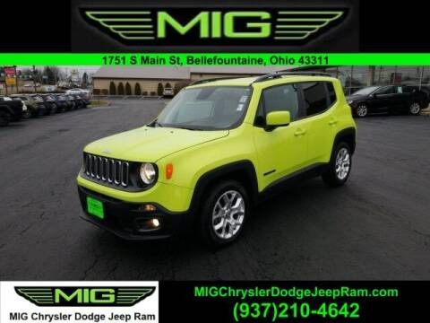 2018 Jeep Renegade for sale at MIG Chrysler Dodge Jeep Ram in Bellefontaine OH