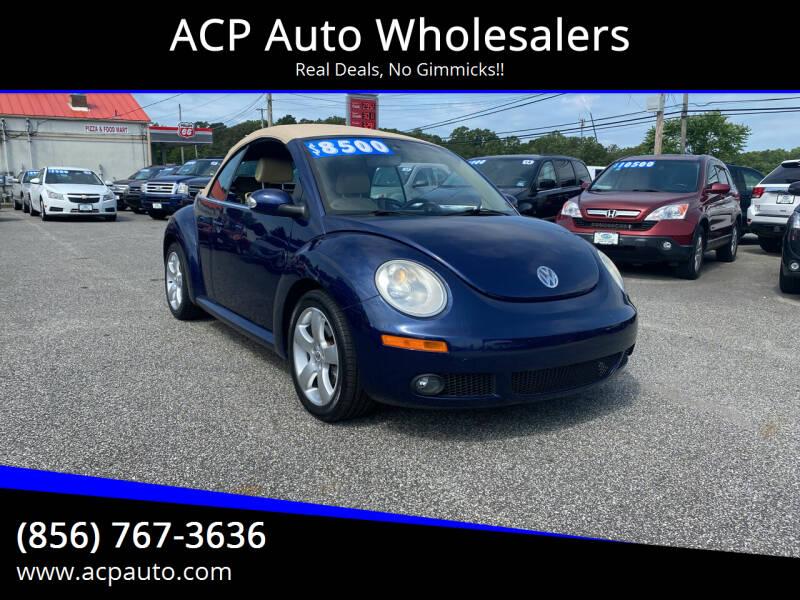 2006 Volkswagen New Beetle Convertible for sale at ACP Auto Wholesalers in Berlin NJ