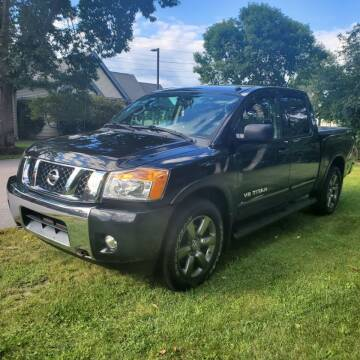 2015 Nissan Titan for sale at Stellar Motor Group in Hudson NH
