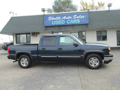 2006 Chevrolet Silverado 1500 for sale at SHULTS AUTO SALES INC. in Crystal Lake IL