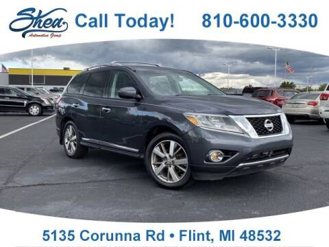 2014 Nissan Pathfinder for sale at Jamie Sells Cars 810 in Flint MI