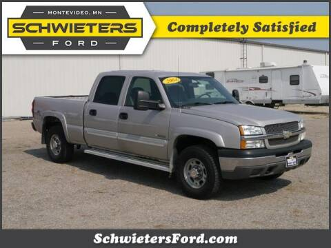 2004 Chevrolet Silverado 2500 for sale at Schwieters Ford of Montevideo in Montevideo MN