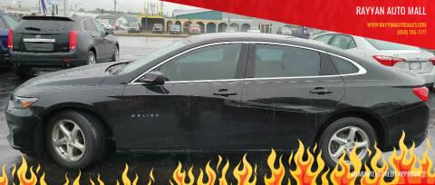 2016 Chevrolet Malibu for sale at Rayyan Auto Mall in Lexington KY