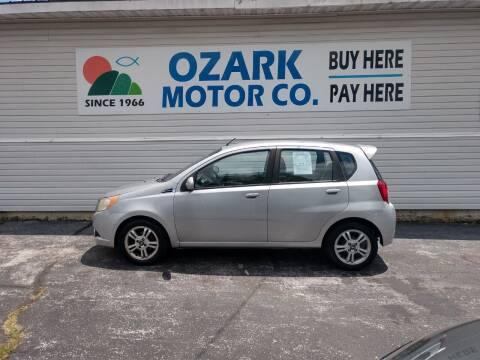 2009 Chevrolet Aveo for sale at OZARK MOTOR CO in Springfield MO