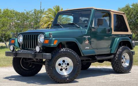 1999 Jeep Wrangler for sale at PennSpeed in New Smyrna Beach FL
