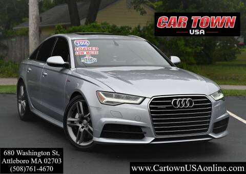 2016 Audi A6 for sale at Car Town USA in Attleboro MA