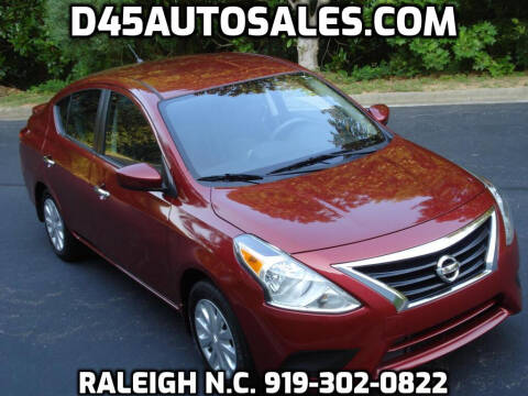 2017 Nissan Versa for sale at D45 Auto Brokers in Raleigh NC