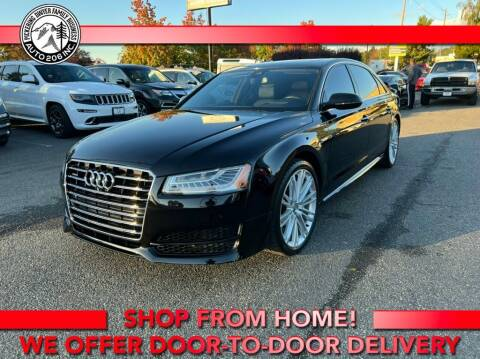 2017 Audi A8 L for sale at Auto 206, Inc. in Kent WA