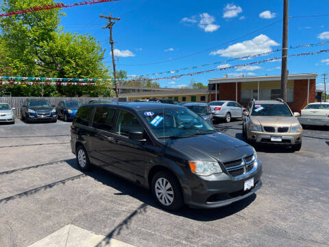 2012 Dodge Grand Caravan for sale at Hensley Auto Group in Middletown OH