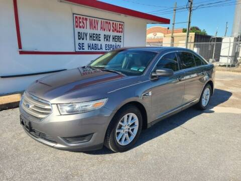 2013 Ford Taurus for sale at Best Way Auto Sales II in Houston TX