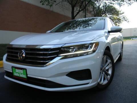 2020 Volkswagen Passat for sale at Dasto Auto Sales in Manassas VA
