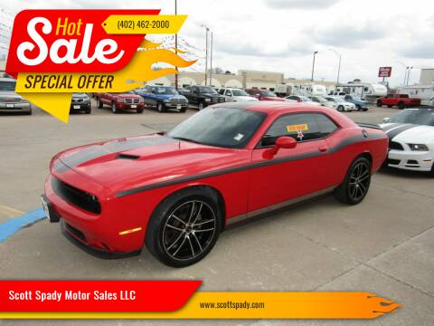 2017 Dodge Challenger for sale at Scott Spady Motor Sales LLC in Hastings NE