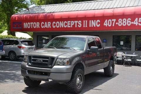 2004 Ford F-150 for sale at Motor Car Concepts II - Apopka Location in Apopka FL