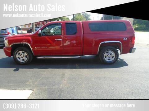 2007 Chevrolet Silverado 1500 for sale at Nelson Auto Sales in Toulon IL
