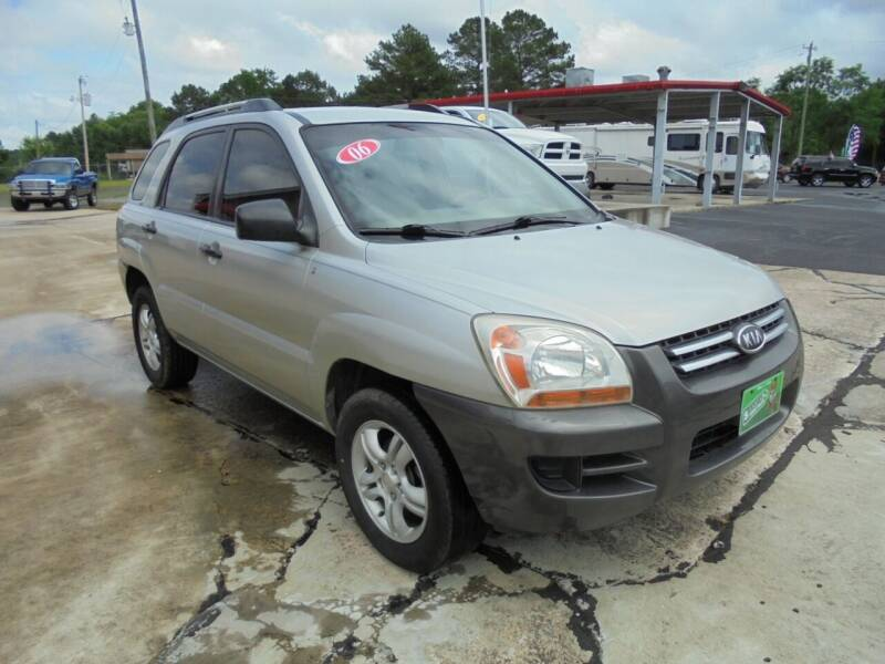2006 Kia Sportage for sale at US PAWN AND LOAN in Austin AR