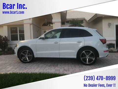 2015 Audi Q5 for sale at Bcar Inc. in Fort Myers FL