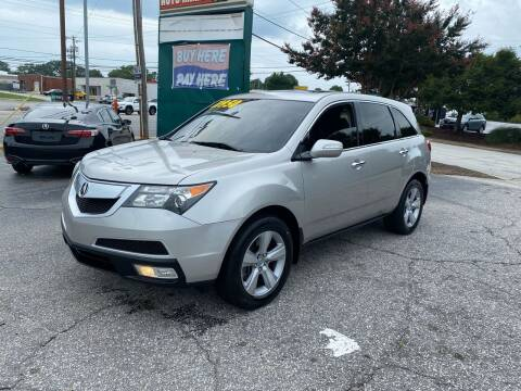 2010 Acura MDX for sale at Import Auto Mall in Greenville SC