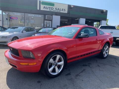 2008 Ford Mustang for sale at Wakefield Auto Sales of Main Street Inc. in Wakefield MA