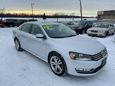 2015 Volkswagen Passat for sale at River Motors in Portage WI