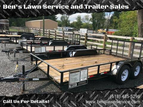 2018 Trailer Express 16' Wrap Brake for sale at Ben's Lawn Service and Trailer Sales in Benton IL
